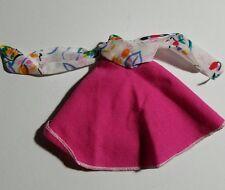 1986 Barbie Doll B Active Vacation Sensation Pink Wrap Skirt #7915
