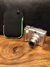Canon PowerShot A550 7.1 MP Digital Camera - Silver W/ Case