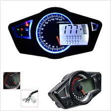Universal Motorcycle RPM 10000 LCD digital odometer speedometer  Multi Function