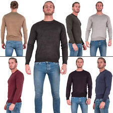 Mens Brave Soul Jumper Sweater Knitted Pullover Warm Winter Sweatshirt Casual M