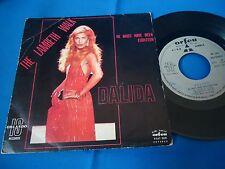 DALIDA - THE LAMBETH WALK - PORTUGAL 45 SINGLE