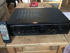 Denon PMA-355 UK Stereo Integrated Amplifier With Remote Control