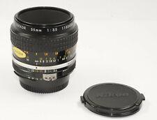Nikon Micro-Nikkor AI 3.5/55mm Macroobjektiv for Nikon AI Bajonett