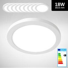 10x Xtend LED Panel Aufputzlampe Einbauspot rund 18W dimmbar Neutralweiß 4000K