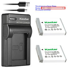 Kastar NB-6L Battery Charger for Canon PowerShot S95 SD770 IS SD980 IS SD1200 IS