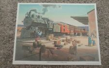** PENNSYLVANIA SPECIAL -1975 Train Art Print- Automatic Switch Co. Collection *