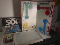 Vintage Parker Brothers Sorry! Slide Pursuit Game 1972 Complete Box Damage