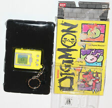 Digimon Virtual Pet Original Box Instructions Tamagotchi Vintage 1997 Tested