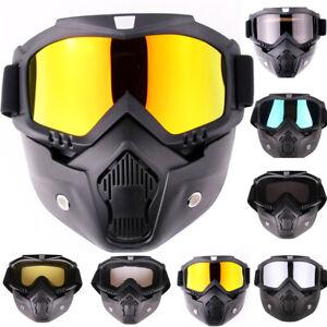 Ski Snowboard Goggles Skiing Eyewear Anti-UV Snowmobile Winter Snow Glasses UK