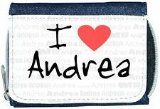 I Love Corazón Andrea Denim Cartera