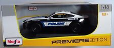 MAISTO® 36203 Ford Mustang GT 2015 Police in 1:18