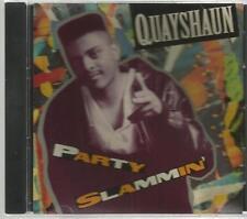 QUAYSHAUN rare PARTY SLAMMIN' 6 track CD single DINKY B. Darrin Chandler PROMO