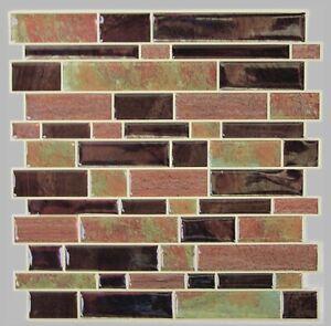 RoomMates Modern Long Stone Stick Tiles - 4 Pack