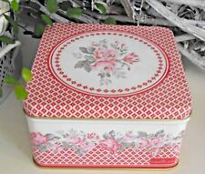 Greengate, Shirley Red, Dose, Schatulle, Metall, Box, Green Gate, S