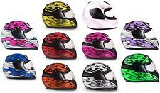 Youth Kids Motorcycle Helmet Child DOT Youth Full Face TYPHOON HELMETS UTV