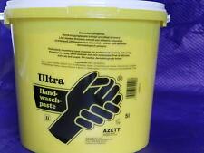 (EUR 2,22/L) Handwaschpaste, ULTRA,  Azett, hochkonzent., 5l Eimer, reizfrei,