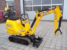 JCB 8008 Cts Micro Escavatore COMPLETO decalcomania Set con Safty AVVERTIMENTO