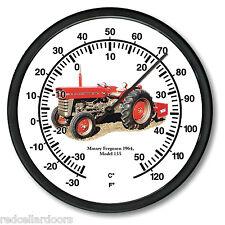 "New 1964 MASSEY FERGUSON 10"" Round Thermometer Model 135  Farm Tractor Soil"