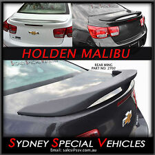REAR WING BOOT SPOILER FOR HOLDEN MALIBU - BRAND NEW - MADE FROM ABS PLASTIC