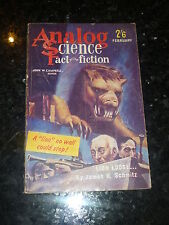 analogique : Science fait Science Fiction - Vol XVIII N°2 - 02/1962 GB Edition