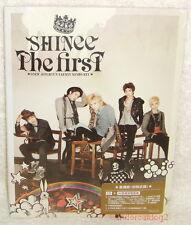 "SHINee The First Taiwan Ltd CD only+44P+""Card"" (w/bonus track「Stranger」)JongHyun"