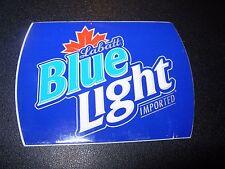 LABATT BLUE LIGHT Imported Die Cut Sticker craft beer brewery brewing