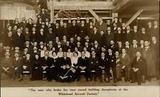 Richmond & Feltham. Whitehead Aircraft Factory Aeroplane Record Breaking Group.