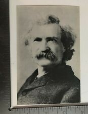 Vintage Postcard Portrait Of Mark Twain Hannibal Missouri