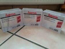 Hama CD-Doppel-Leerh&252,lle, Transparent, 5er-Pack (00044752) Medien