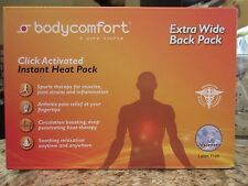 Bodycomfort Extra-wide Back Pack - Instant Heat Pack - Unscented