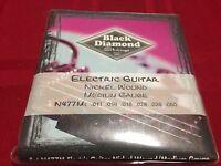 BLACK DIAMOND ELECTRIC GUITAR NICKEL WOUND MEDIUM GAUGE 11-50  N477M