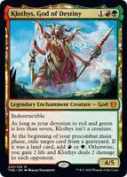 1x KLOTHYS, GOD OF DESTINY - Theros - MTG - Magic the Gathering NM