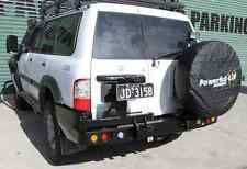 Nissan Patrol GU Series 1,2,3 Rear Bar Dual Spare Wheel Carrier