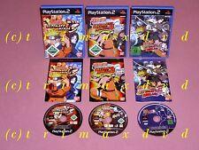 3x ps2 _ NARUTO Ultimate Ninja 3 & NARUTO Shippuden Ultimate Ninja 4 & Naruto 5