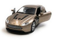 Model Car Aston Martin V12 Vantage Sports Car Golden Car 1:3 4-39 (Licensed)