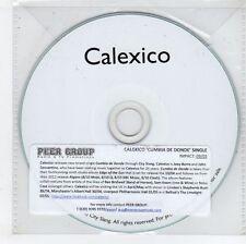 (GN213) Calexico, Cumbia De Donde - 2015 DJ CD