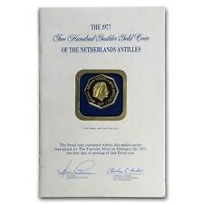 1977 Netherlands Antilles Gold 200 Gulden Proof (Mint Sealed) - SKU#178833