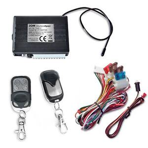 JOM ZV Funk Fernbedienung Zentralverriegelung universal 2 Mini Handsender