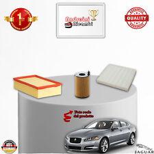 KIT TAGLIANDO FILTRI JAGUAR XF 2.7 Diesel V6 152KW 207CV DAL 2008 ->