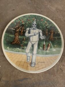 """Knowles Collector Plates """"If I only had a heart"""" Wizard of OZ NEW IN THE BOX"""