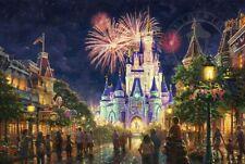 Thomas Kinkade Main Street U. S. A. - Walt Disney World SN Paper 27x18