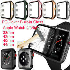 Case for Apple Watch Series 5 4 3 2 iWatch Bumper PC Hard Cover Screen Protector