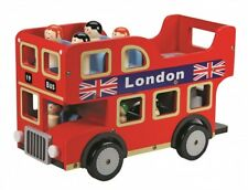 Toyland Wooden Toy - London Bus