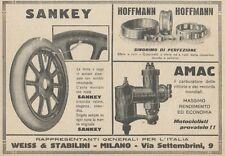 Z1805 SANKEY - Hoffmann - Amac - Pubblicità d'epoca - 1923 Old advertising
