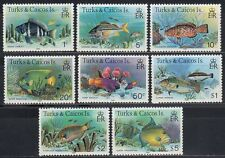 Turks & Caicos 1981 ** Mi.405/19 II Fische Fish [sq5851]
