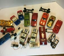Vintage 1960's slot cars Revell amt cox