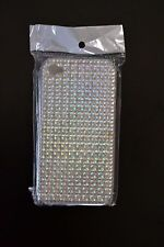 APPLE iPHONE CELL PHONE + CASE/COVER/PROTECTOR + 4 + 4S + 4TH 4G + SILVER