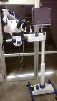 DENTAL MICROSCOPE FIVE STEP LCD,CAMERA, MOTORIZED