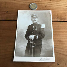 photo ancienne militaire format cabinet N140