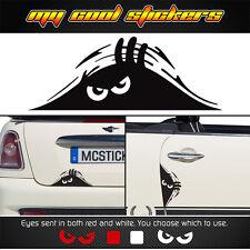 Peeking Monster Scary Eyes vinyl sticker decal, 4X4 JDM Ute Car truck funny